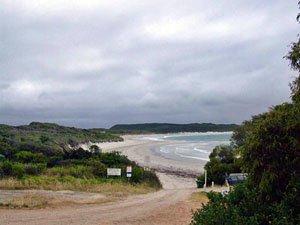 PB05, -35.039111, 117.160279 Parrys Beach access